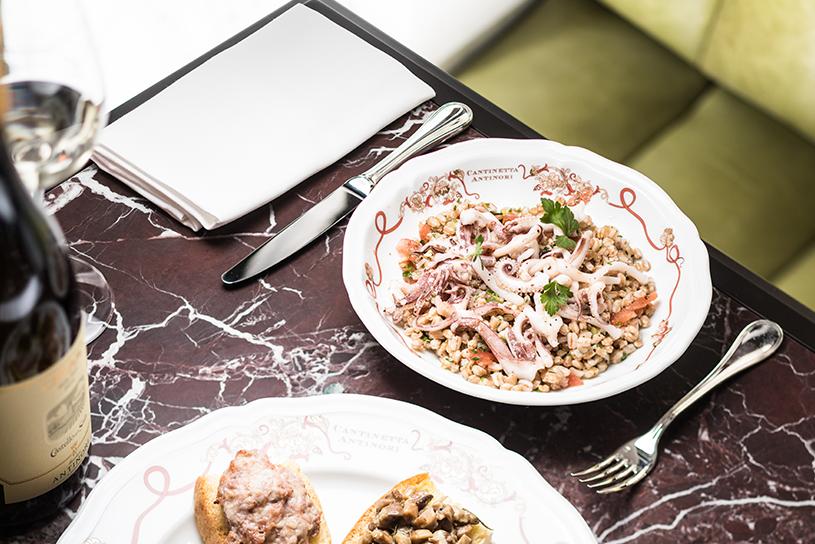 Cantinetta Antinori | Riccardo Giraudi | Tuscan Cuisine | Plat