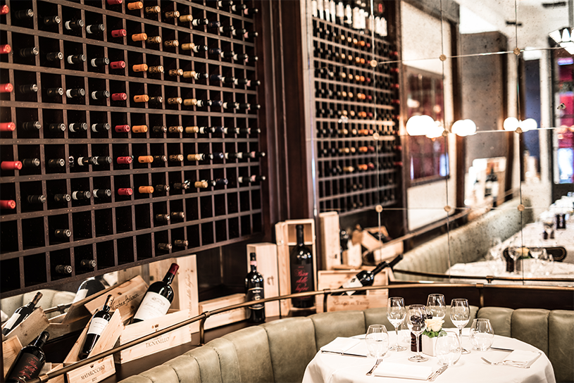 Cantinetta Antinori | Riccardo Giraudi | Tuscan Cuisine | Intérieur Restaurant